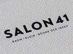 Salon 41: Flyer, Flyer Zamm nahn, Website