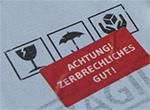 """Möwe: Mailing """"Zerbrechliches Gut"""""""